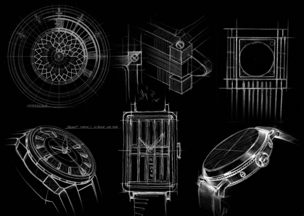 Mido watch design