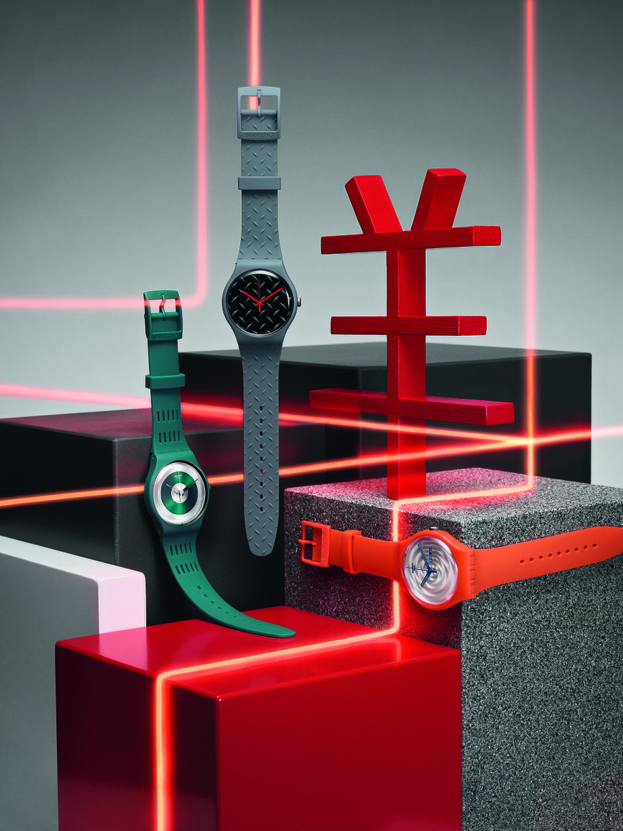 Swatch goes into Tech-mode