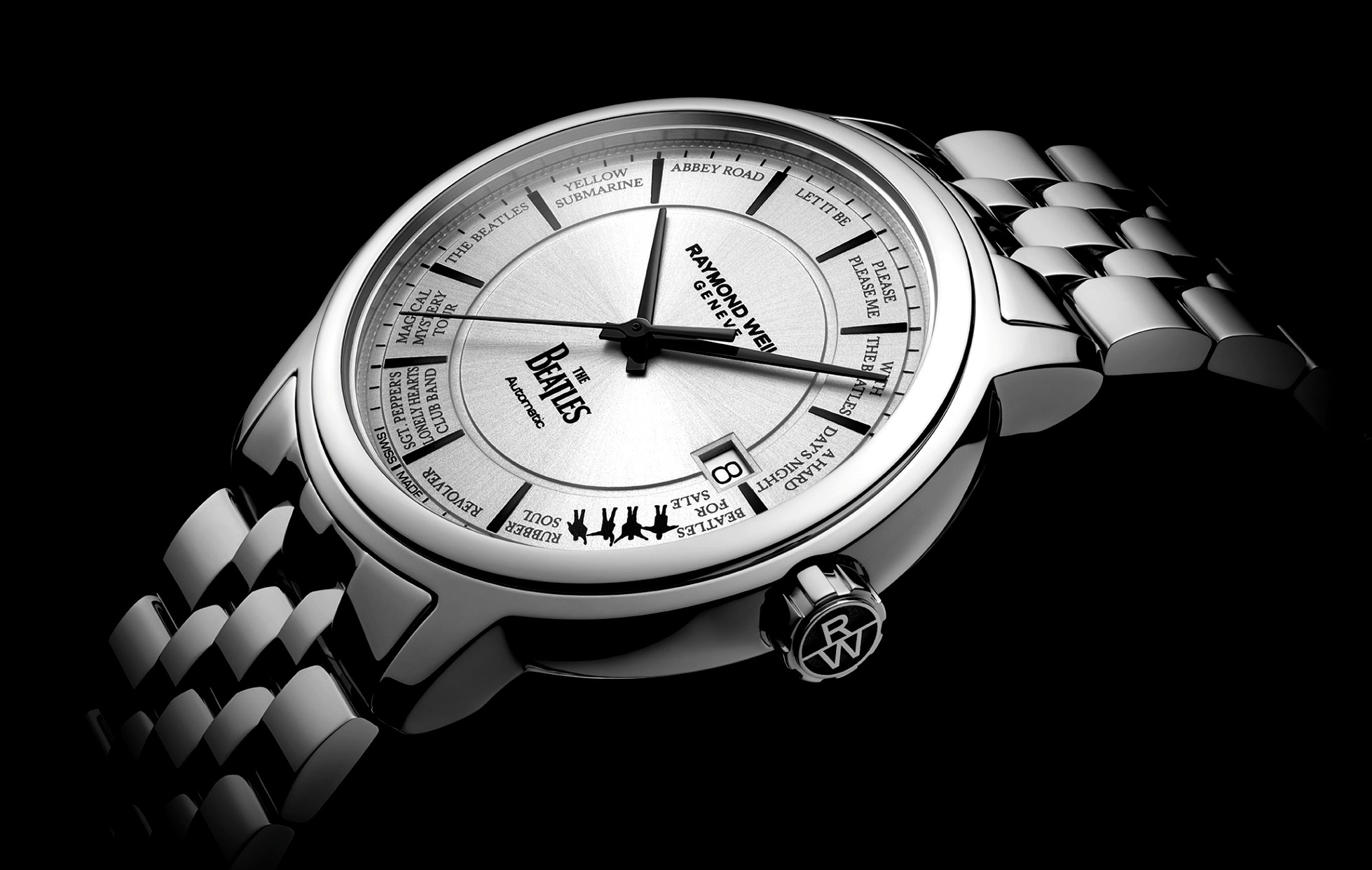 Raymond Weil in harmony with The Beatles