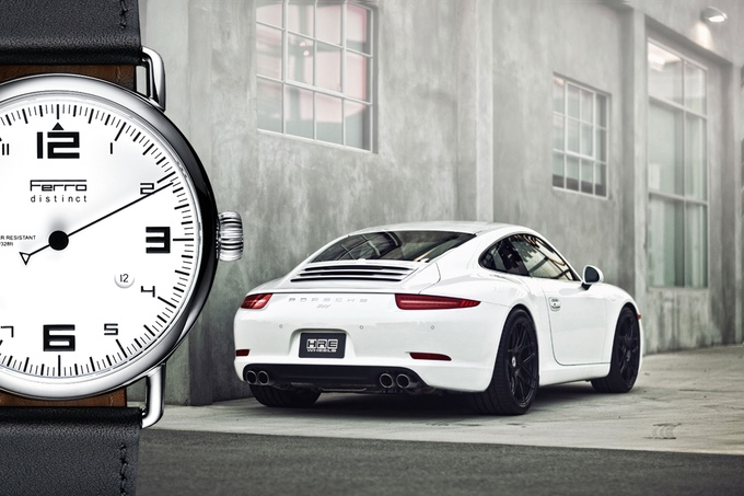 Ferro Watches: Displaying Time 911 Tachometer Style!