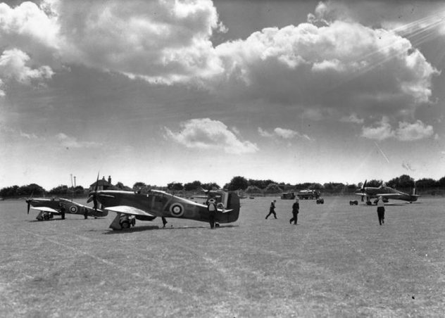 In case you wonder where the name comes from; Hawkinge was an RAF base and played an important role in WWII