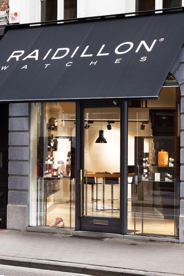 Raidillon boutique antwerpen