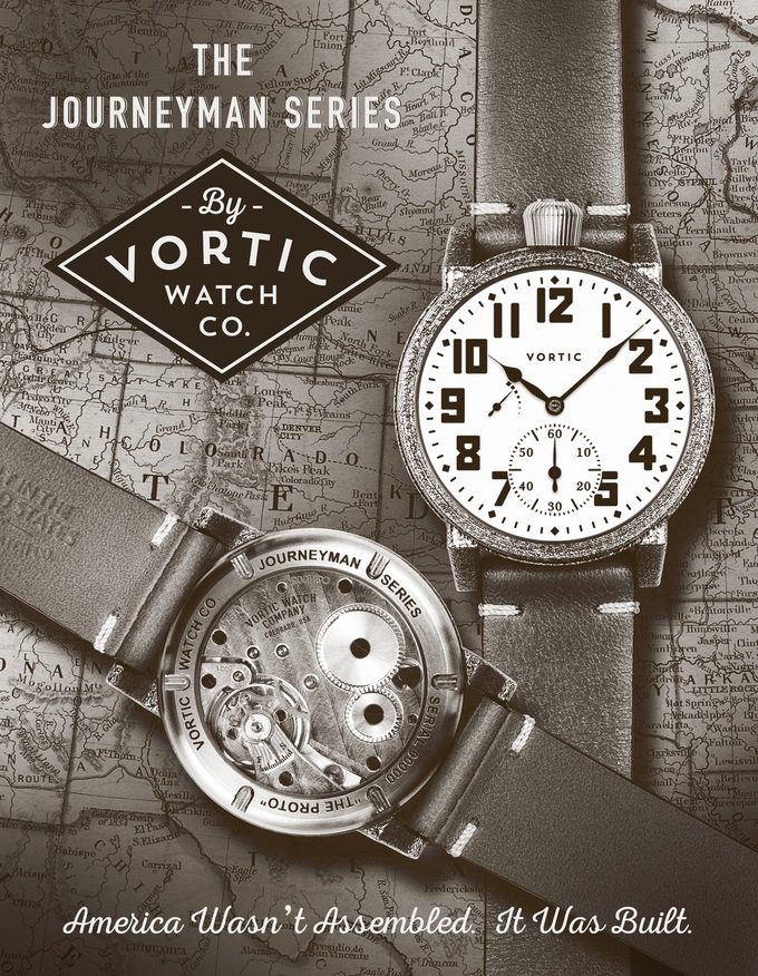 Vortic Journeyman: Less Vintage, Equally Exciting