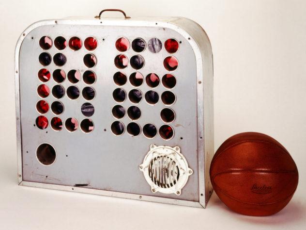 NBA's first shot clock