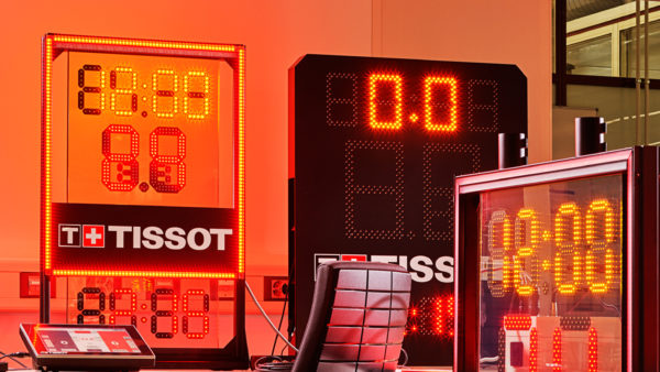 Tissot Updates NBA Shot Clock