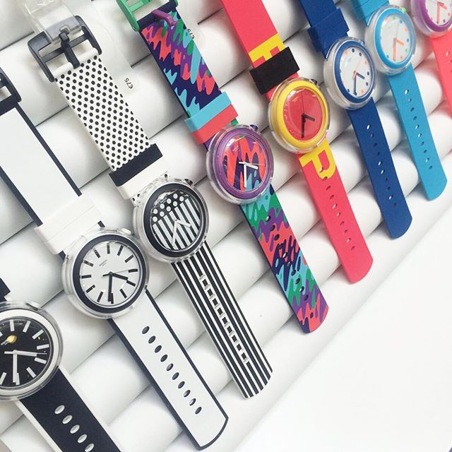 Swatch POP: Never Fading Creativity
