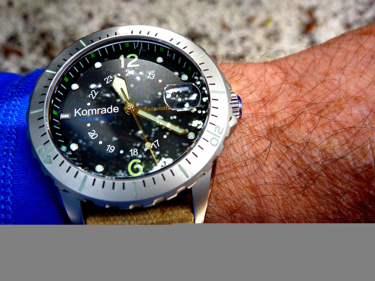 Komrade Watches: Kiwi Tough