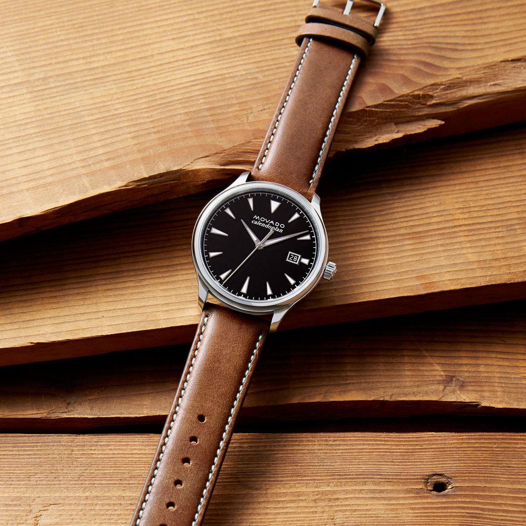 Movado Introduces Heritage Collection With Calendoplan