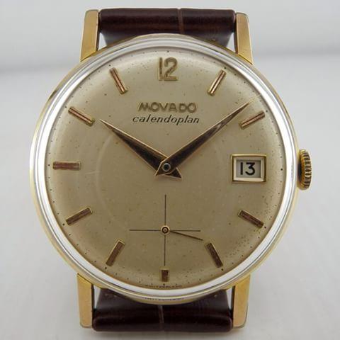 1950's Movado Calendoplan