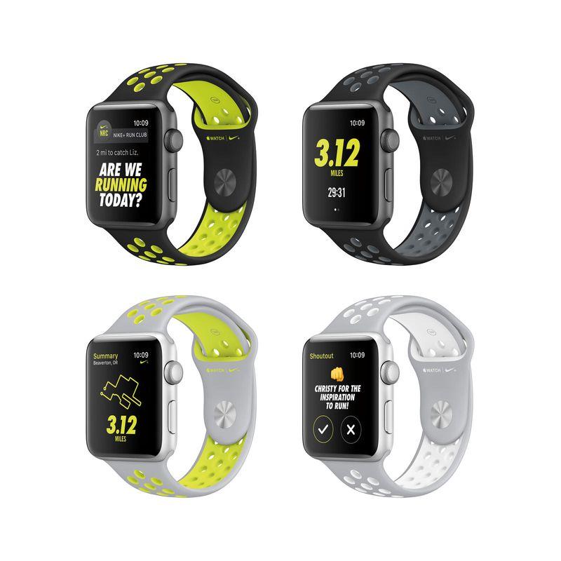 Apple Watch Nike+ models