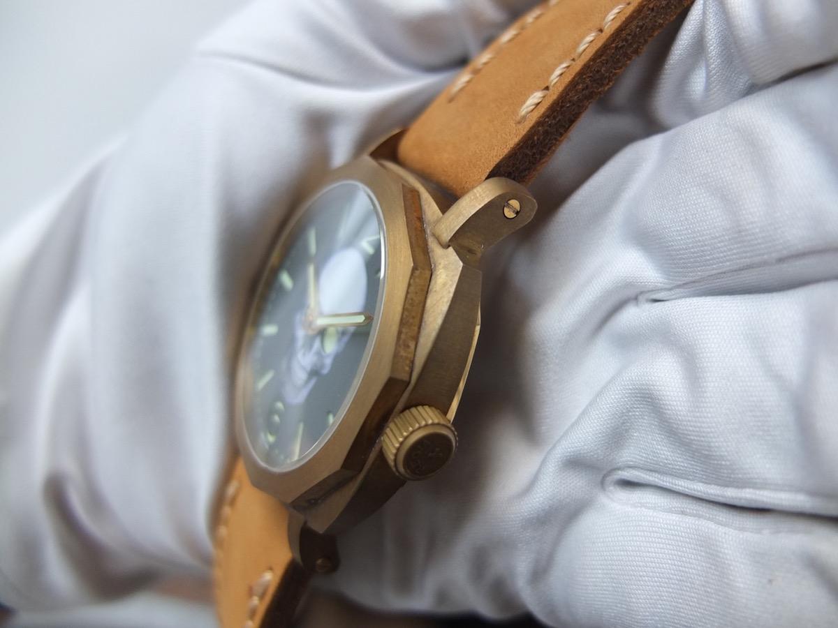 Regia Brass Skull watch - 4