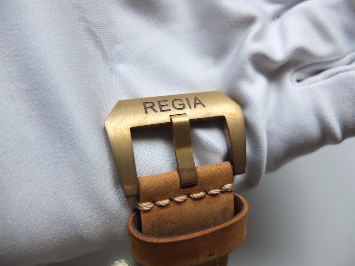 Regia Brass Skull watch - 5