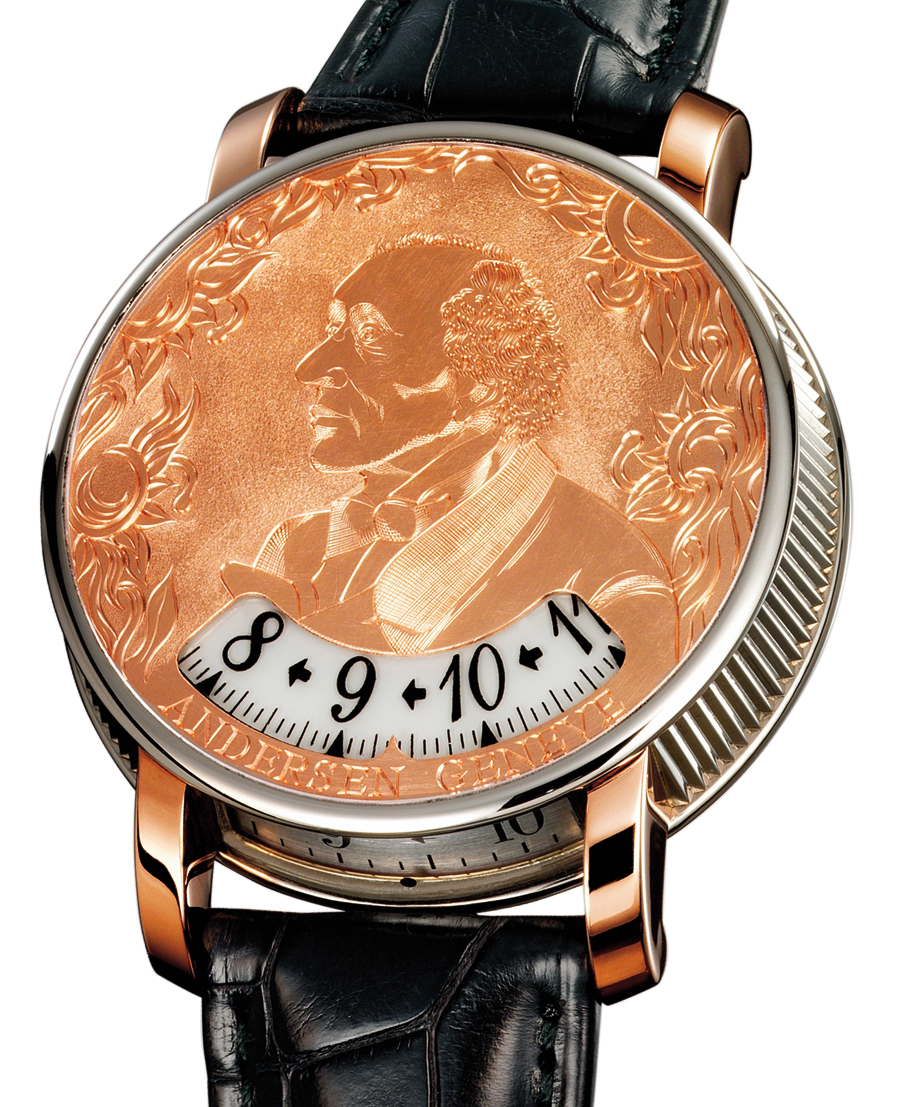Svend Andersen Montre a Tact