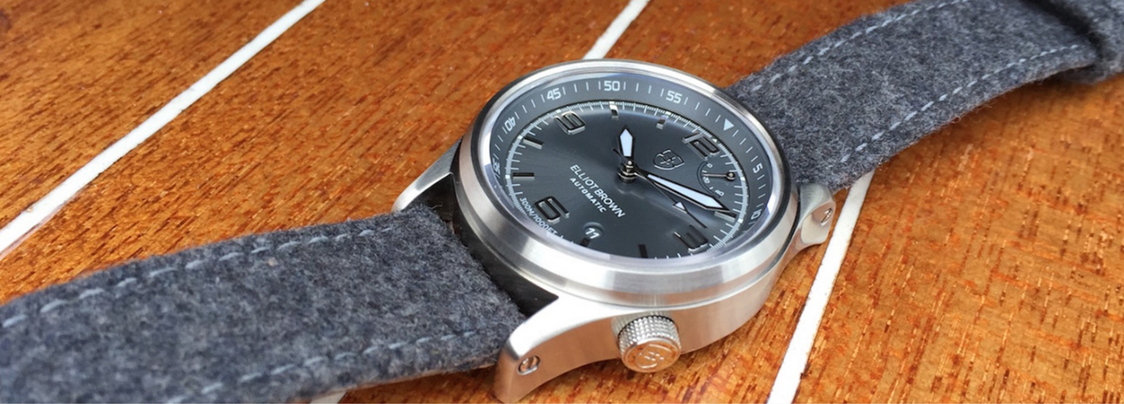 Elliot Brown Presents The Tyneham Watch