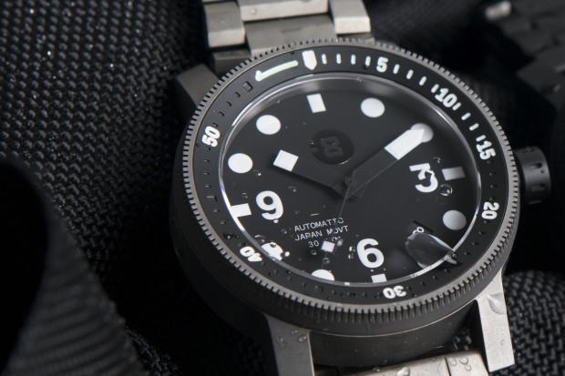 Minus-8 Titanium Diver: Industrial Delight