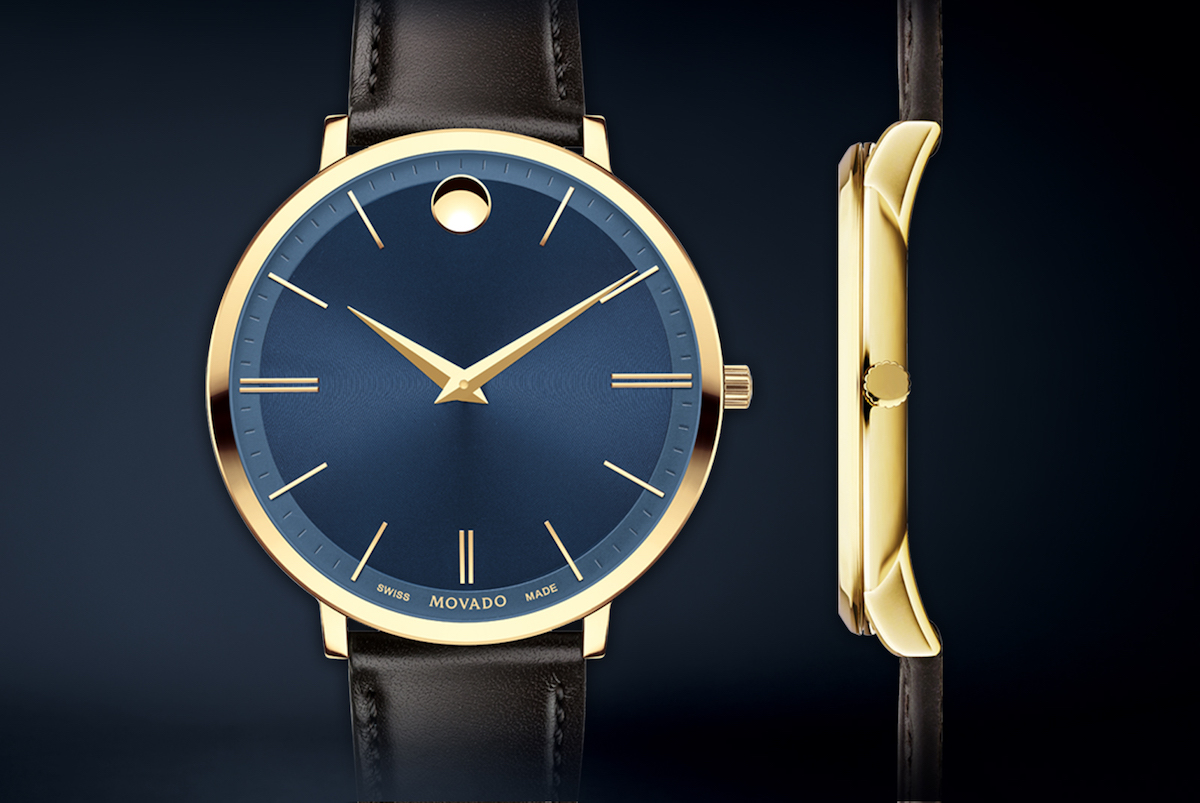 Movado Make The Museum Watch Ultra Slim