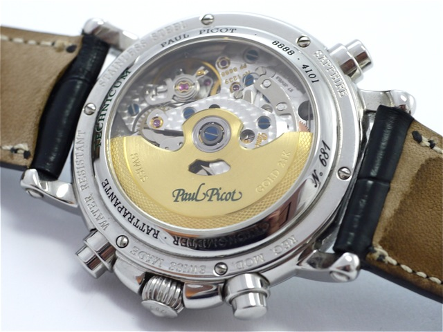 Image of the movement of the Paul Picot Atelier Technicum, yet not of the watch at auction