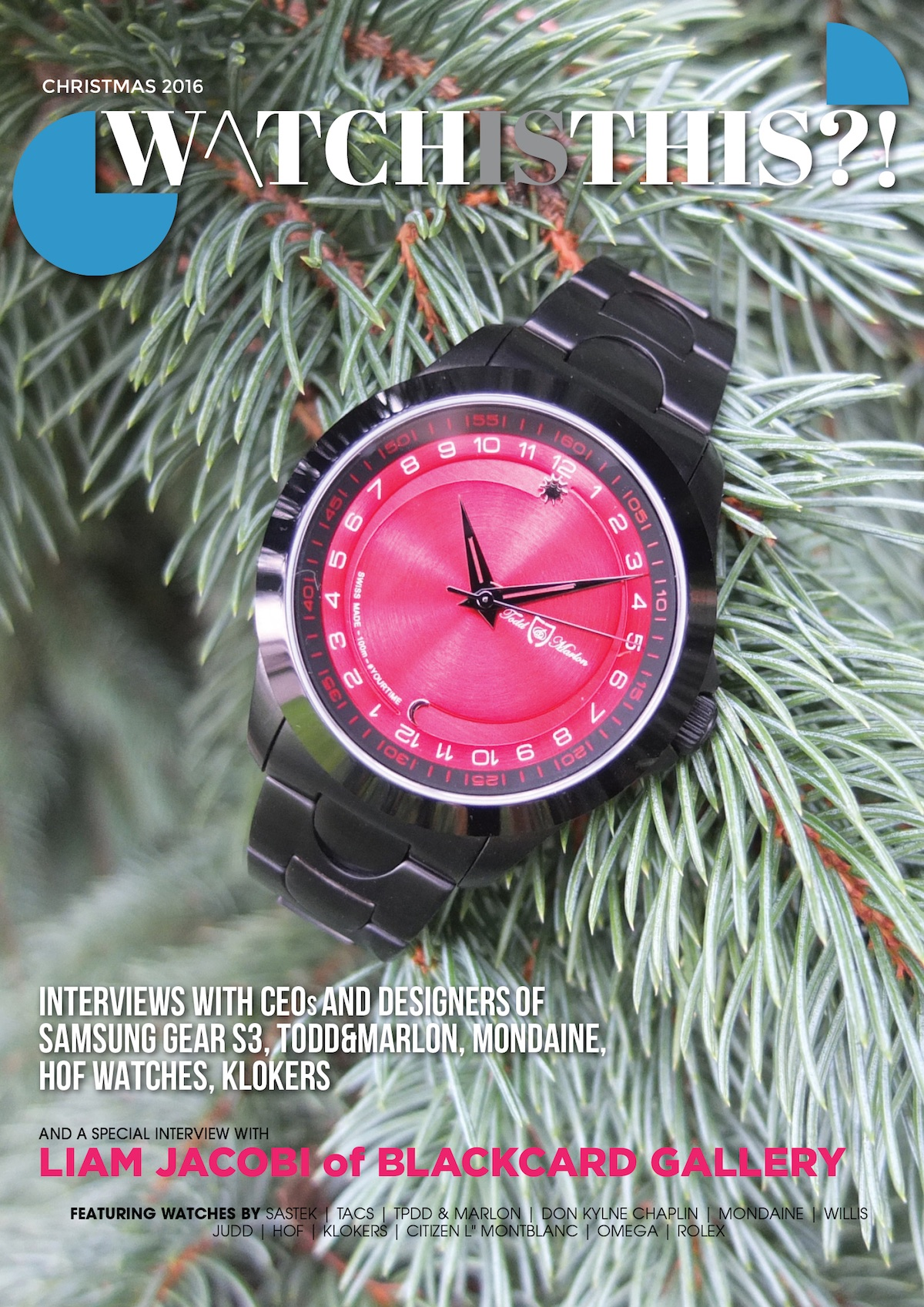 Watchisthis?! Christmas Issue Out Now!