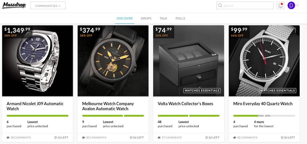 Buying Watches At Massdrop: A Good Alternative?