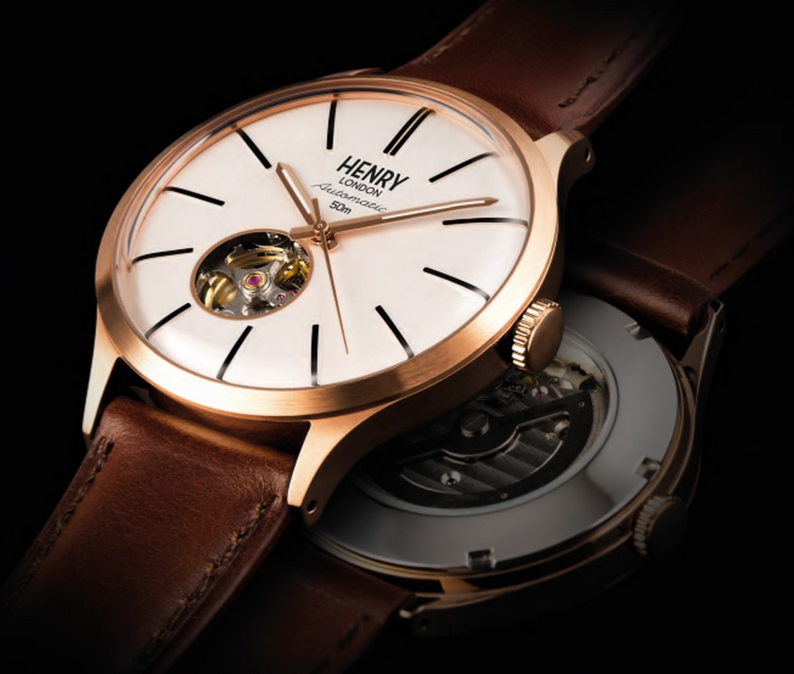 Introducing Henry London Heritage Automatic Collection
