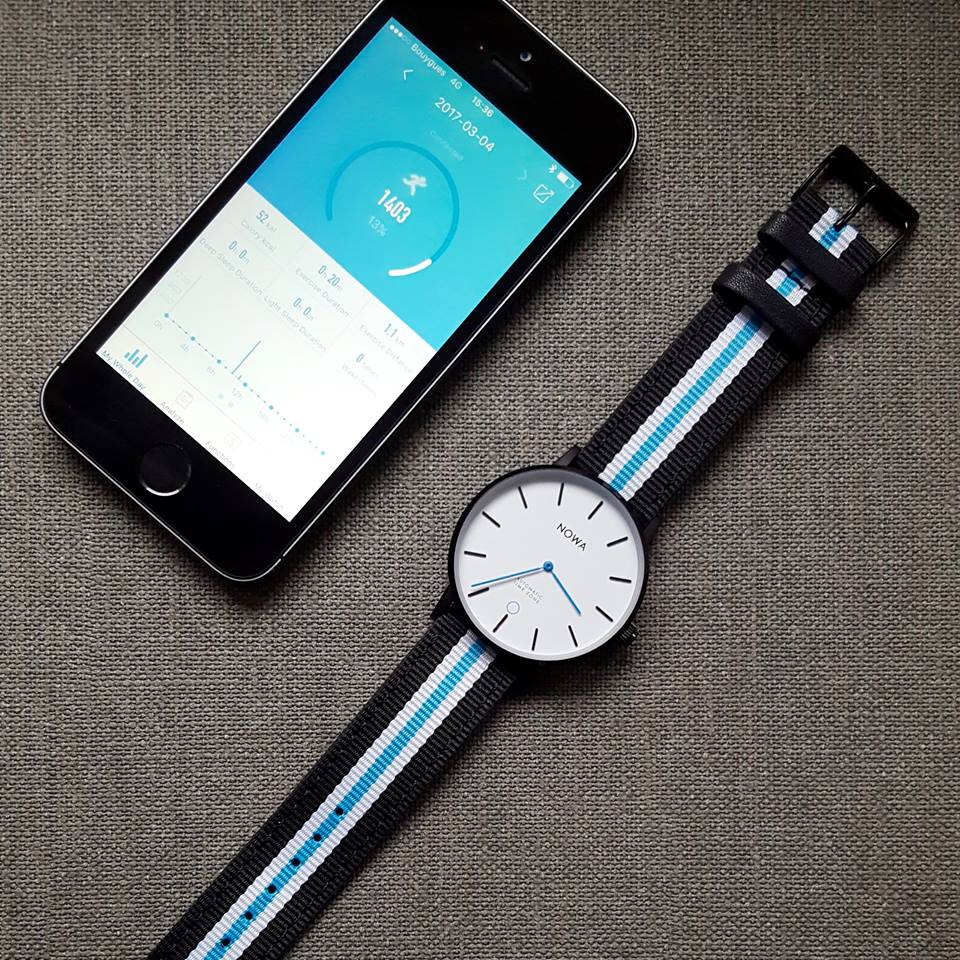 NOWA Shaper – World's Thinnest Hybrid Smartwatch