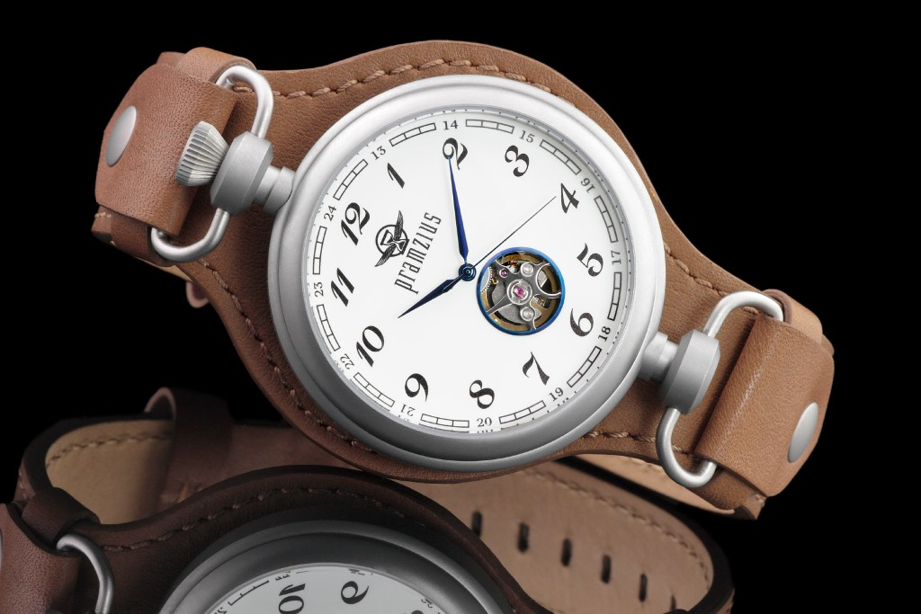 Pramzius Trans-Siberian Railroad inspired by pocket watch