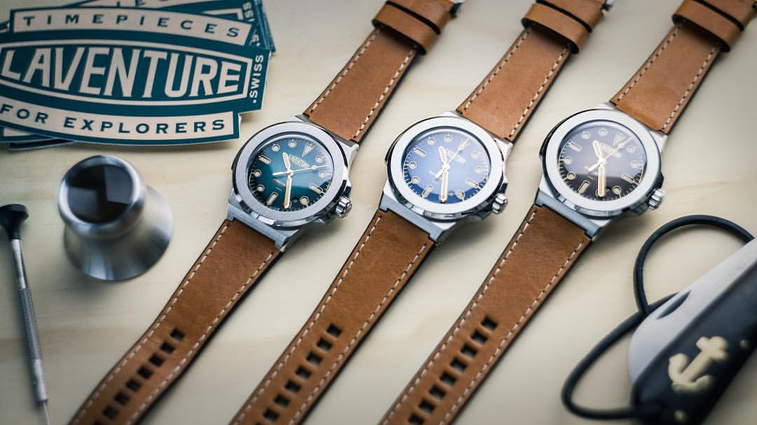 A Swiss watch created for adventurers and explorers – Laventure Marine