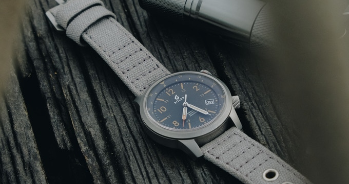 The Boldr Expedition watch