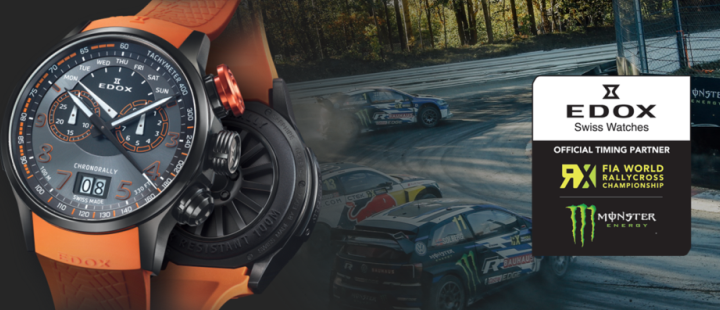 EDOX – Official Timing Partner of FIA World Rallycross Championship