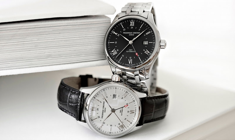 New Classics Index Automatic GMT by Frederique Constant
