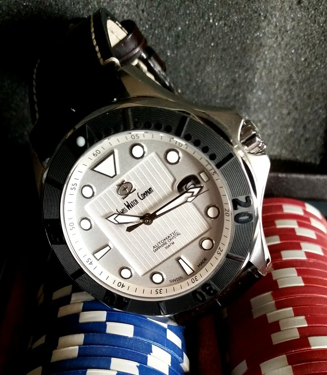 Introducing the new Swiss Watch Company Diver