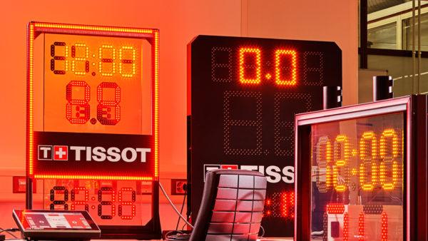 Tissot Updates NBA Shot Clock