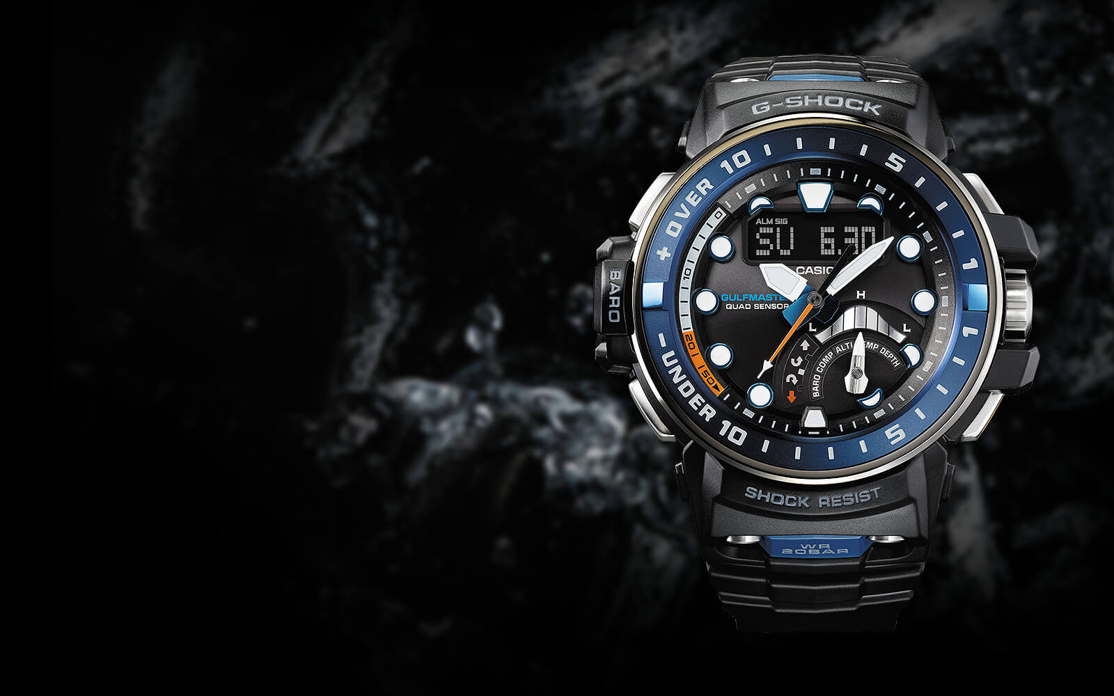 Casio G-Shock Finally Releases Quad Sensor Gulfmaster