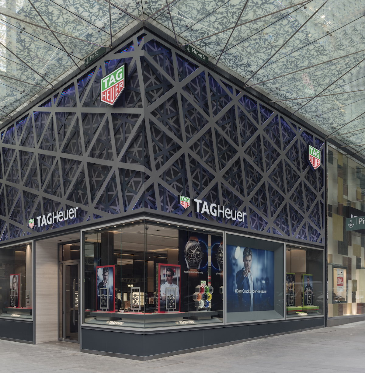 TAG-Heuer Introduces New Retail Design Concept