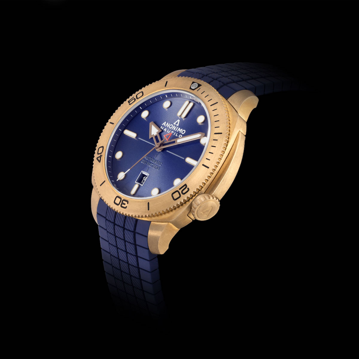 Anonimo Nautilo: Blue Works For You