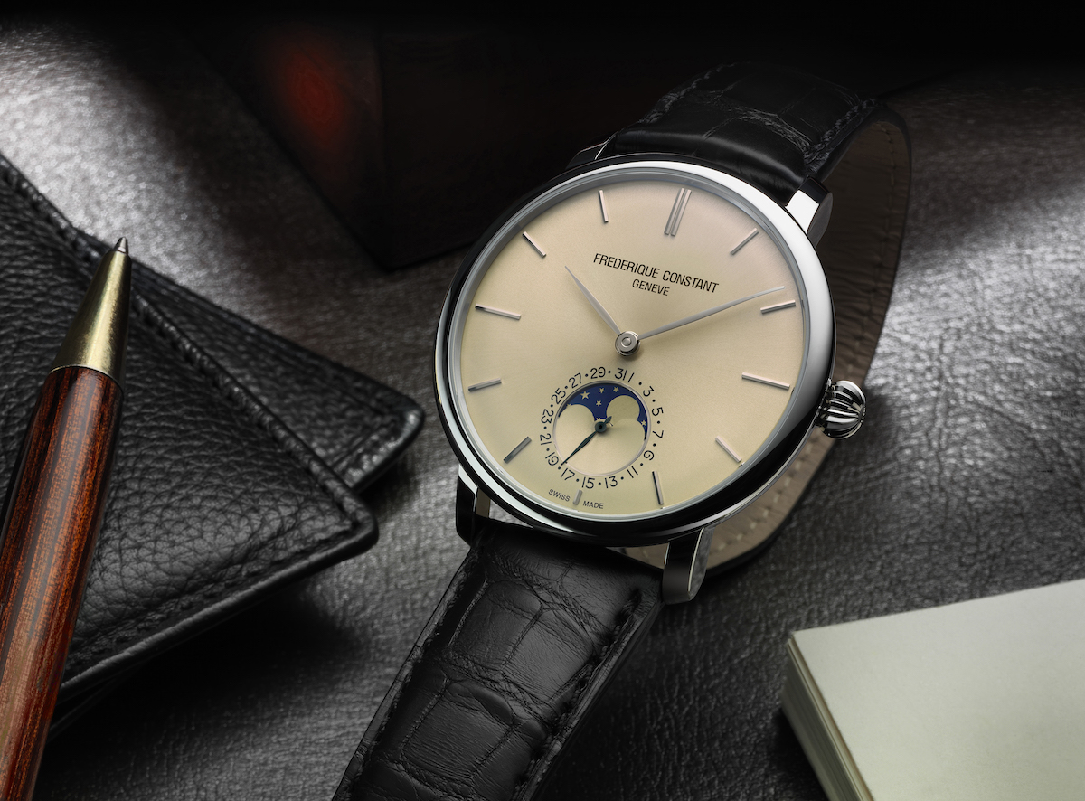 Moonphase And Manufacture: Frederique Constant's Latest