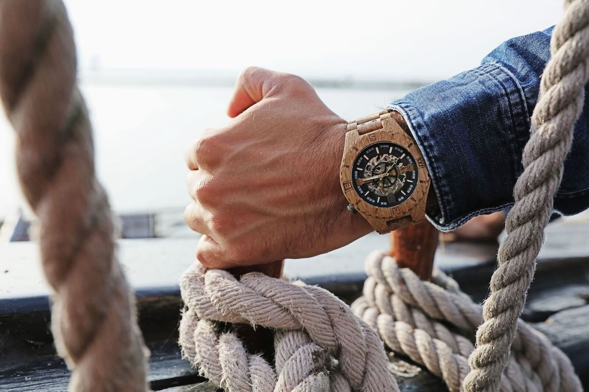 Lumbr Troy: Heavy Duty Wood Watch
