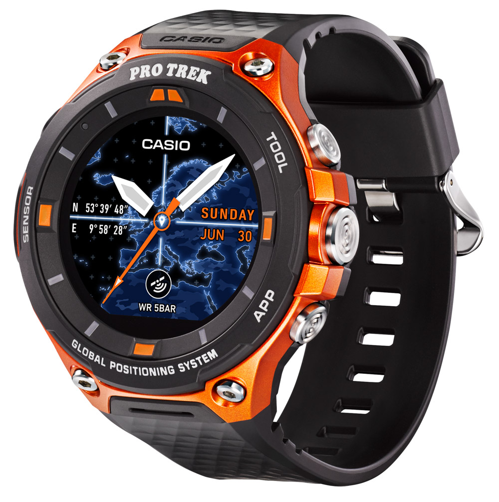 Casio Pro Trek Smart: Brawn and Brains