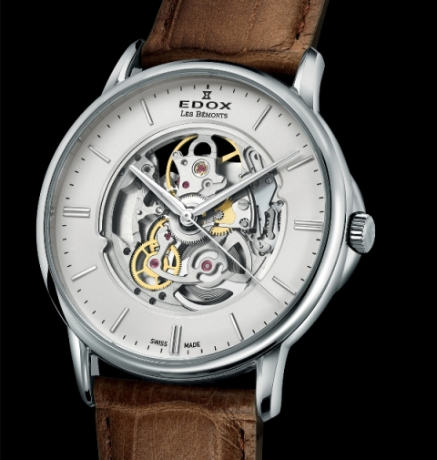 Introducing the Edox Les Bemonts Shade of Time