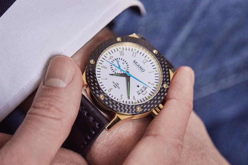 Miang – the highly customizable watch