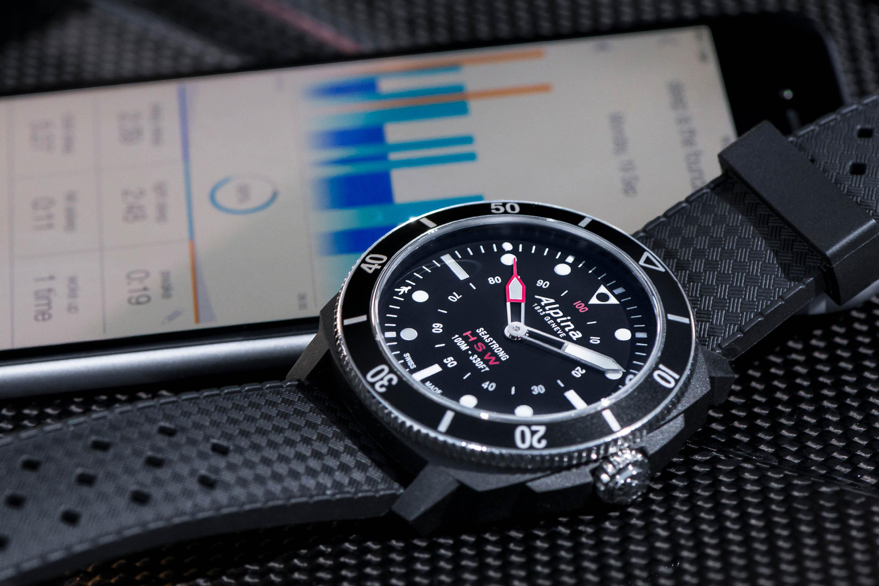 The rise of the machines – Alpina Seastrong Horological Smartwatch