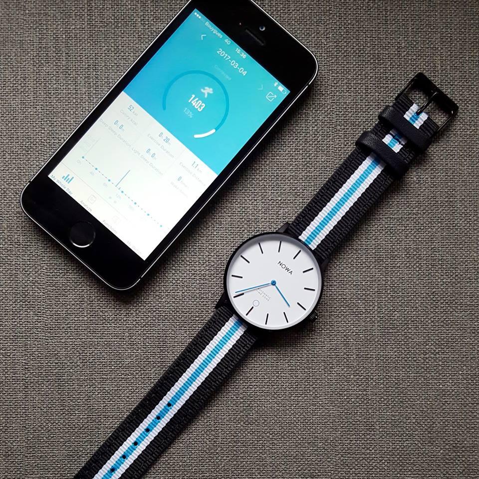 NOWA Shaper – World's Thinnest Hybrid Smartwatch