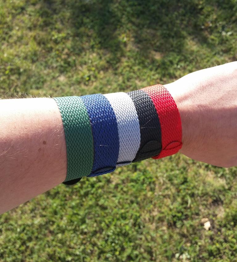 Perlon straps for the summer